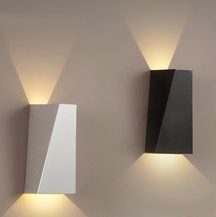 Indoor Led Wall Sconce Modern Iron Wall Lamp Bedroom Bedside Lamp Wall Lamp Stair Aisle Light Tanat Light